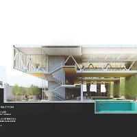 Dain Susman's Whole Body Center project. Winner of the 2014 AIA Kansas Student Design Competition. BNIM studio.