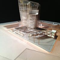 Timothy Tse's Timber in the City project. Winner of the 2013 Charles Burton Award. Prof. Nathan Howe's studio.