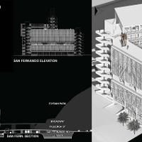 """The 2015 winner is Dain Susman, Master of Architecture graduate,Marion, for his project """"The Triangle,"""" which was completed in the fifth-year architectural design studio led by the Steven Ehrlich, the visiting Regnier chair, and Genevieve Baudoin assistant professor of architecture."""