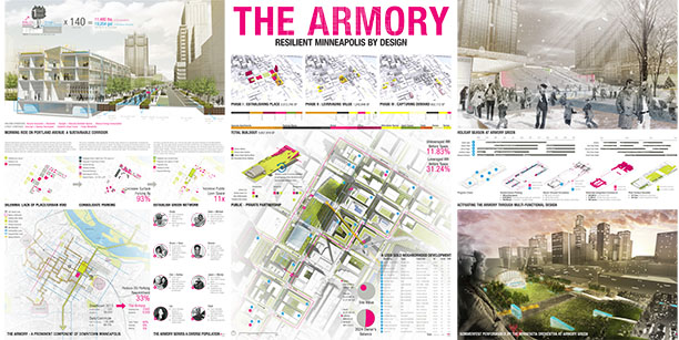Students From The Department Of Landscape Architecture And Regional Community Planning Won Gerald D Hines Competition In Spring 2013 For Their